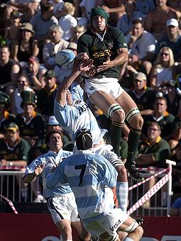 Contundente derrota ante Sudáfrica
