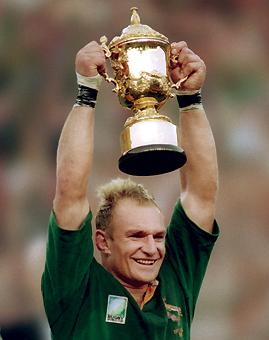 Francois Pienaar, el gran capitán