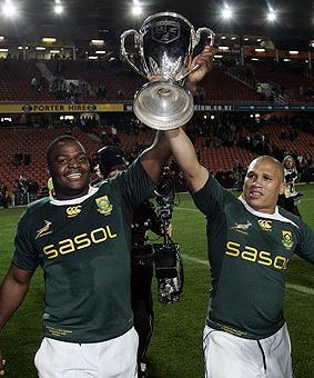 Sudáfrica, en la cima del rugby