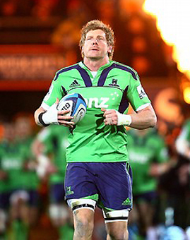 Adam Thomson de 8, la novedad en los All Blacks