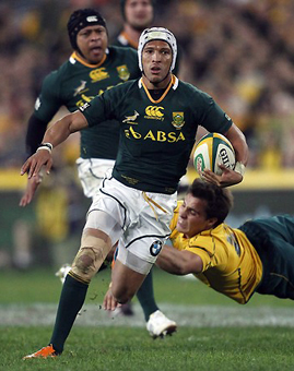 Tres lesionados más en Springboks