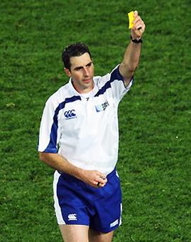 Joubert será el árbitro de la final