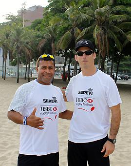 Con los mejores, el rugby crece en Brasil