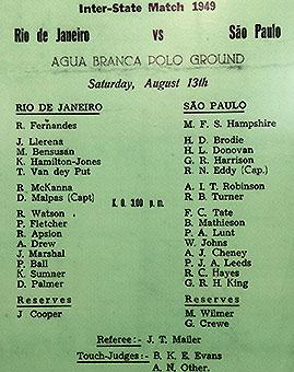 Homenaje a la historia del rugby brasileño