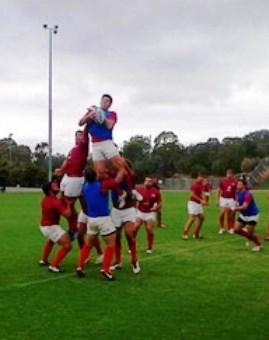 Pampas XV entrenó en Canberra