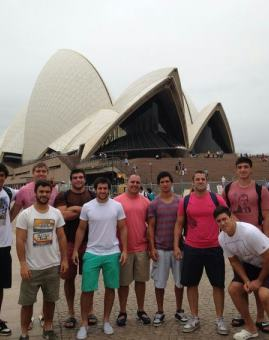 Descanso para Pampas XV en Sydney