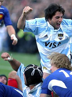 Las fotos de Francia Vs. Los Pumas 2004