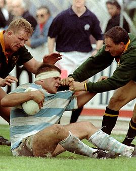 El recuerdo de Pumas Vs Sudáfrica de 1996