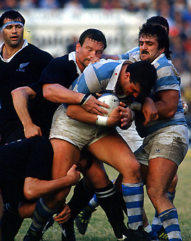 Pumas Vs All Blacks, recuerdo del 91