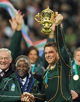 Sudáfrica, en la cima del Mundo