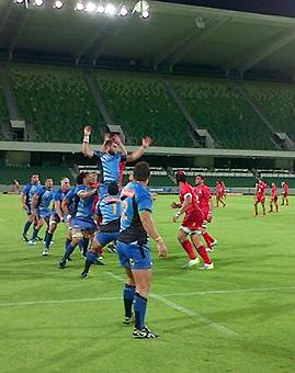 Digno debut de Pampas XV en Australia