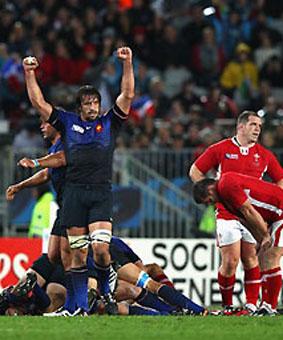 Las fotos de Gales vs. Francia
