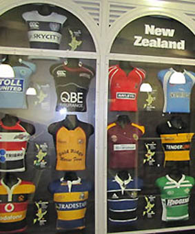 Museo del Rugby de Nueva Zelanda, en fotos