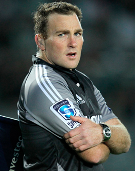 Referee Glen Jackson Stuff Tapita